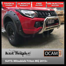 Kut Snake Flares for Mitsubishi Triton MQ 2015-Current Front Wheels ABS
