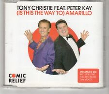 (HI535) Tony Christie ft Peter Kay, (Is This The Way To) Amarillo - 2005 CD
