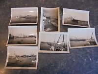 Ancienne Photographie Anciens Bateaux Paquebots Pirates , Alexandrie Marseille .