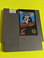 🔥100% WORKING NINTENDO NES RARE 5-Screw BLACK LABEL Game Cartridge HOGANS ALLEY