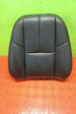 07 08 09 Escalade Tahoe Yukon Right Seat Top Cover Pad Black Leather Denali Foam
