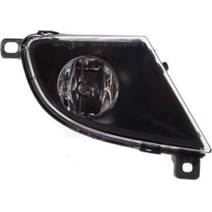 For 528i 08-10, Passenger Side Fog Light, Clear Lens, Plastic Lens