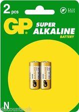 2 x GP Super Alkaline LR1 N Type 910A 1.5V Batteries Battery - 1 Pack of 2