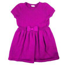 Gymboree Baby Girls Sweater Dress Size 18-24 Months Purple Glitter Bow