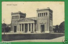 gö München Propyläen Kutsche Personen 31.12.1921 Briefmarke 40 Pfg Munich