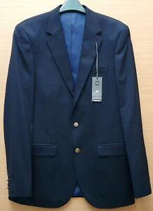 "MARKS & SPENCER Mens Dark Navy Blazer Jacket Size 38"" Chest Long MRRP £69-00"