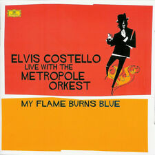 ELVIS COSTELLO - My Flame Burns Blue with Metropole Orchestra (2 CD, 2006, DG)