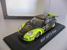1/43 PORSCHE DEALER Minichamps PORSCHE 911 996 GT3 CUP UPS model car Mamerow