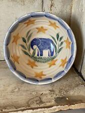 More details for bell pottery spongeware tiny bowl