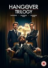 Hangover Complete Movie Trilogy Film [3 DVDs] Collection Box set: Part 1 2 3 NEW