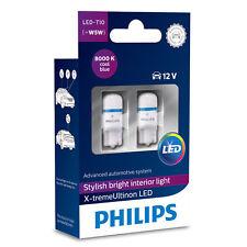 Philips X-treme Ultinon 360 LED W5W T10 LED Car Bulbs 8000K 127998000KX2