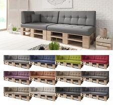 6er Set / Einzelkissen Palettenkissen Palettenpolster Sitzkissen Couch gesteppt