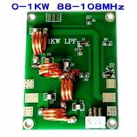 Assembled 0-1KW 88-108MHz Low pass filter coupler LFP for FM transmitter