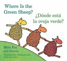 Donde Esta La Oveja Verde?/Where Is the Green Sheep? by Mem Fox (Board book, 2010)