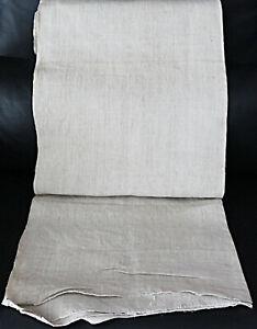 Antiker handgewebter Ballen feines Bauernleinen * 11,00 x 0,72 * um 1900 *