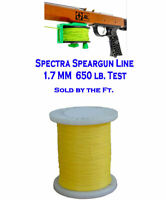 Line Spectra 650 Lb. 1.7 mm heavy duty speargun reel shock cord spear gun real