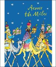 Across The Miles Quentin Blake Christmas Card Individual General Xmas Cards