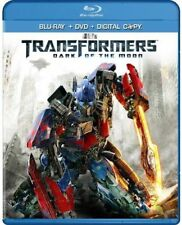 Transformers: Dark of the Moon (Two-Disc Blu-ray/DVD) Sealed