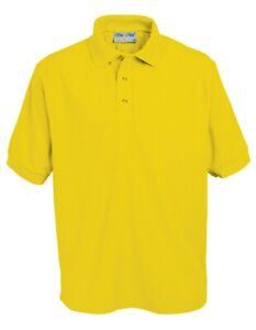 Blue Max Kids Penthouse Polo Shirt Childrens Casual Wear Dry Collar T-Shirt Jnr