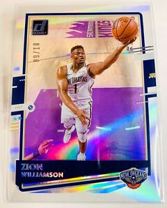 2020-21 CLEARLY DONRUSS ZION WILLIAMSON HOLO SILVER ACETATE SP /10 RARE 🔥 SSP