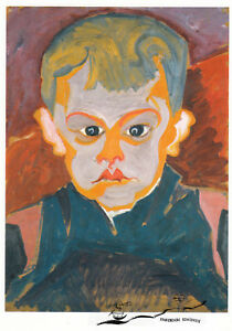 Postkarte / Postcard Art : Carl Lohse - Junge (Blauer Junge) , um 1920
