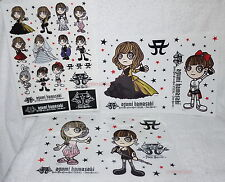 ayumi hamasaki Rock'n'Roll Circus Tour FINAL 7days Special 3 stickers (Ver.C)