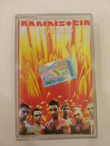 Rammstein - Herzeleid Cassette Tape VERY RARE Russian Edition