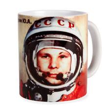 Gagarin USSR Cosmonaut Space Traveler Mug 10 fl oz
