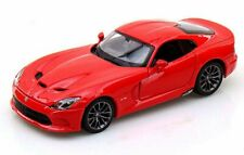 2013 Dodge SRT Viper GTS Red Maisto 31271 1/24 Scale Diecast Model Car