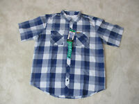 NEW Orvis Button Up Shirt Adult Extra Large Blue Plaid Fishing Fly Fisherman Men