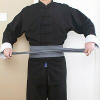 2.5M Cotton Linen Belt Sash For Kung Fu Tai Chi Martial Arts Monk Costume Retro