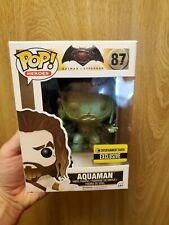 Funko Pop! Aquaman (Patina) #87 Entertainment Earth Exclusive