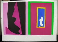"Print Plank Test Printer Henri Matisse "" The Fate "" 2004, 25 5/8in Jazz"