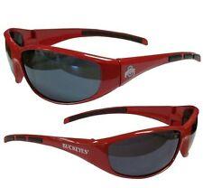 Green Siskiyou NCAA Miami Hurricanes Wrap Sunglasses /& Zippered Case