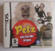 PETZ : MA FAMILLE SINGES pour Nintendo DS ** NEUF **