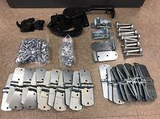Todco Door Repair Kit w/ Hinges, Rollers & Lock & Keeper! Morgan Whiting Supreme