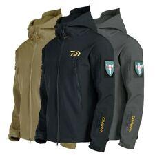 Fishing Jackets Men Warm Thick Fleece Fishing Clothes Zipper Fishing Outerwear