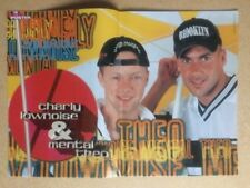CHARLY LOWNOISE & MENTAL THEO Star Poster Fantasy German Magazine Poster 1998