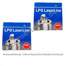 8x NGK Laserline Zündkerze LPG2  1497  LPG  MAZDA  MERCEDES  MITSUBISHI  NISSAN