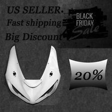Unpainted Front Cowl Upper Fairing Nose For Kawasaki Ninja ZX6R 2005 2006 ZX636