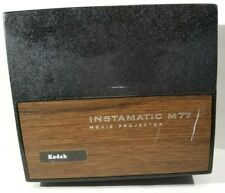 """Kodak Instamatic M77 Movie Projector With Reel Super 8 & 8mm """"For Parts"""""""