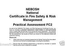 NEBOSH Fire FC2 Practical Risk Assessment High Scoring Example