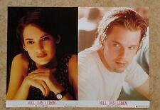 (2_03) Aushangfotos 2x A3 - REALITY BITES - VOLL DAS LEBEN Winona Ryder, Ethan H