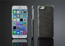Leather case for apple iPhone 6/4.7,Litchi ,Back Cover 0nly,Black