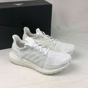 Size 10 Women's adidas Ultraboost 19 Sneakers G54015 White