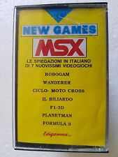 Msx NEW msx games n.8 with Magazine Edigamma