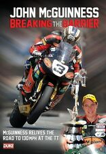 John McGuinness - Breaking the Barrier (New DVD) Road Racing Isle of Man TT