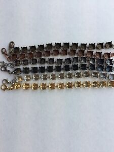 Antique Copper Empty Cup Chain Bracelet 12mm 4470 CUSTOMIZABLE!! WOW! Can Come Finished!