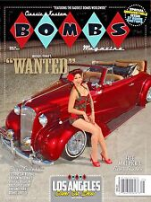 CLASSIC & KUSTOM BOMBS MAGAZINE #8 SPRING 2017 136 PGS  RAGTOP SPECIAL SOLD OUT!