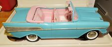 Vintage Barbie☆57 Chevy Bel Air☆ Convertible Car Mattel Turquoise & Pink 1988 a9